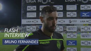 Liga (7ª): Flash interview Bruno Fernandes