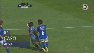 Vitória FC, Caso, Allef aos 81'