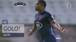 GOLO! Os Belenenses, Keita aos 42', Os Belenenses 2-0 SL Benfica