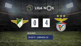 Liga NOS (26ªJ): Resumo Moreirense FC 0-4 SL Benfica