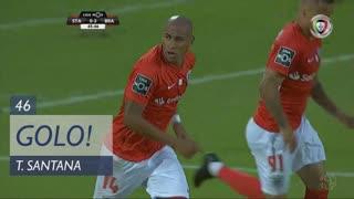 GOLO! Santa Clara, Thiago Santana aos 46', Santa Clara 1-3 SC Braga