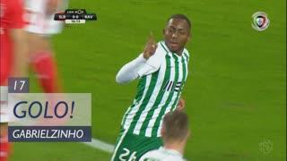 GOLO! Rio Ave FC, Gabrielzinho aos 17', SL Benfica 0-1 Rio Ave FC