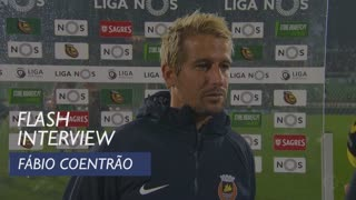 Liga (11ª): Flash interview Fábio Coentrão