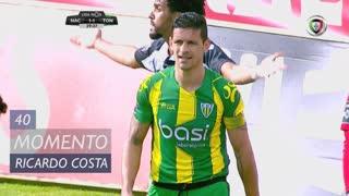 CD Tondela, Jogada, Ricardo Costa aos 40'