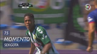 Vitória FC, Jogada, Sekgota aos 75'
