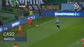 Boavista FC, Caso, Mateus aos 54'