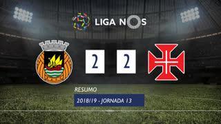 Liga NOS (13ªJ): Resumo Rio Ave FC 2-2 Os Belenenses
