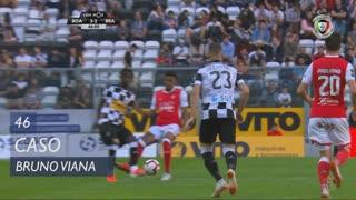 SC Braga, Caso, Bruno Viana aos 46'