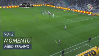 Boavista FC, Jogada, Fábio Espinho aos 90'+3'