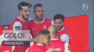 GOLO! SC Braga, Fransérgio aos 46', CD Feirense 0-1 SC Braga
