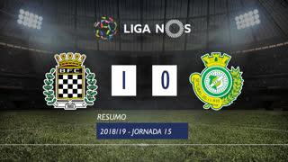 Liga NOS (15ªJ): Resumo Boavista FC 1-0 Vitória FC