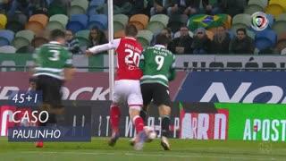 SC Braga, Caso, Paulinho aos 45'+1'
