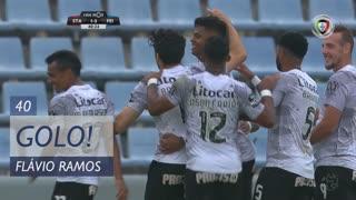 GOLO! CD Feirense, Flávio Ramos aos 40', Sta. Clara 1-3 CD Feirense