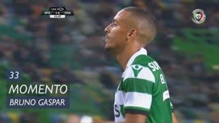 Sporting CP, Jogada, Bruno Gaspar aos 33'
