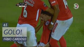 GOLO! Sta. Clara, Fábio Cardoso aos 65', Sta. Clara 3-3 SC Braga