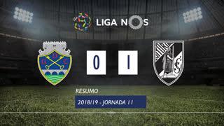 Liga NOS (11ªJ): Resumo GD Chaves 0-1 Vitória SC