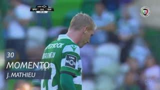 Sporting CP, Jogada, J. Mathieu aos 30'