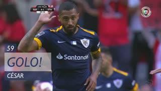 GOLO! Santa Clara, César aos 59', SL Benfica 4-1 Santa Clara