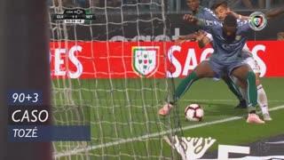 Vitória SC, Caso, Tozé aos 90'+3'