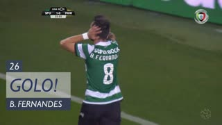 GOLO! Sporting CP, Bruno Fernandes aos 26', Sporting CP 2-0 Moreirense FC