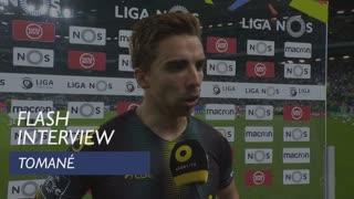 Liga (33ª): Flash Interview Tomané