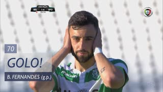 GOLO! Sporting CP, Bruno Fernandes aos 70', Belenenses 1-4 Sporting CP