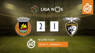 Liga NOS (4ªJ): Resumo Flash Rio Ave FC 2-1 Portimonense