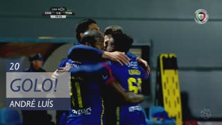 GOLO! GD Chaves, André Luis aos 20', GD Chaves 1-0 CD Tondela