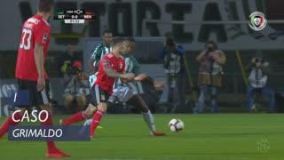 SL Benfica, Caso, Grimaldo aos 1'