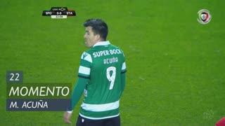 Sporting CP, Jogada, M. Acuña aos 22'