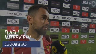 Liga (29ª): Flash Interview Luquinhas