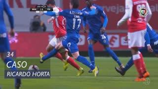 SC Braga, Caso, Ricardo Horta aos 34'