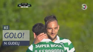GOLO! Sporting CP, N. Gudelj aos 65', Belenenses 1-3 Sporting CP