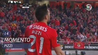 SL Benfica, Jogada, Pizzi aos 14'