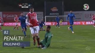 SC Braga, Penálti, Paulinho aos 82'