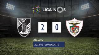 Liga NOS (10ªJ): Resumo Vitória SC 2-0 Santa Clara