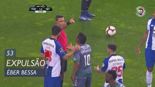 Vitória FC, Expulsão, Éber Bessa aos 53'