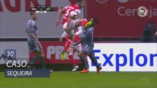 SC Braga, Caso, Sequeira aos 30'