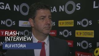 Liga (15ª): Flash interview Rui Vitória