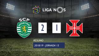 Liga NOS (15ªJ): Resumo Sporting CP 2-1 Os Belenenses
