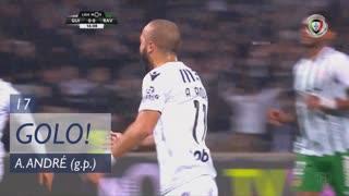 GOLO! Vitória SC, André André aos 17', Vitória SC 1-0 Rio Ave FC