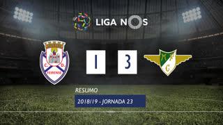 Liga NOS (23ªJ): Resumo CD Feirense 1-3 Moreirense FC