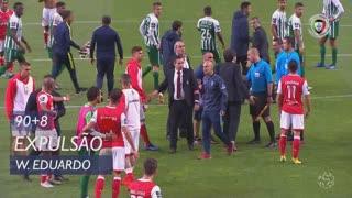 SC Braga, Expulsão, Wilson Eduardo aos 90'+8'