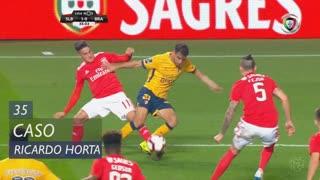 SC Braga, Caso, Ricardo Horta aos 35'