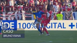 SC Braga, Caso, Bruno Viana aos 45'