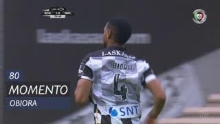 Boavista FC, Jogada, Obiora aos 80'