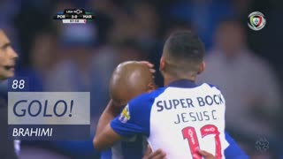 GOLO! FC Porto, Brahimi aos 88', FC Porto 3-0 Marítimo M.