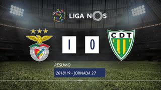 Liga NOS (27ªJ): Resumo SL Benfica 1-0 CD Tondela