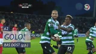 GOLO! Sporting CP, Bas Dost aos 62', Santa Clara 1-1 Sporting CP