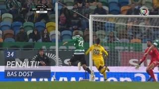 Sporting CP, Penálti, Bas Dost aos 34'